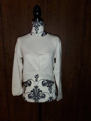 Amisu Cropped shirt wit