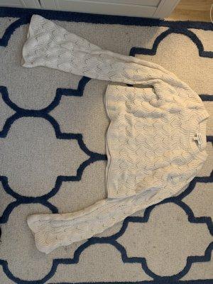 & other stories Pull en crochet blanc cassé-crème