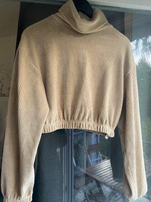 Cropped pullover mit Rollkragen NEU