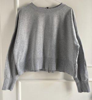 Cropped Pullover von H&M in hellgrau