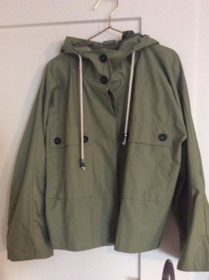 Zara Raincoat green grey