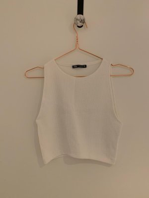 Zara Cropped top wit