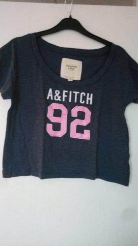 Abercrombie & Fitch T-shirt court bleu foncé