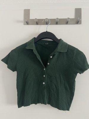 Brandy & Melville Camicia cropped verde scuro