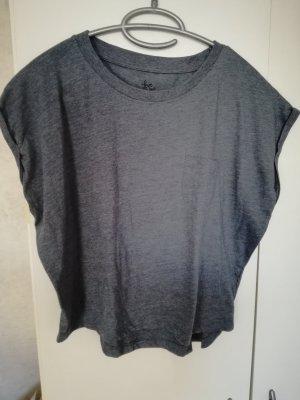 cropped Shirt dunkelblau