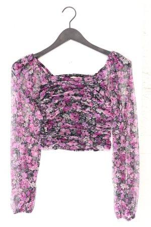 T-shirt court violet-mauve-violet-violet foncé polyester