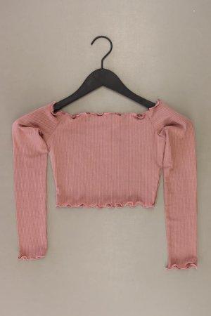 T-shirt court vieux rose-rosé-rose clair-rose polyester