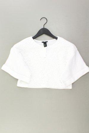 Camicia cropped bianco sporco Cotone
