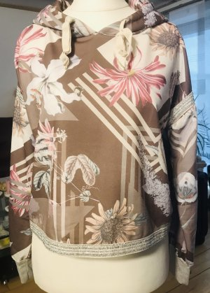 Chilli Cropped shirt beige-roze