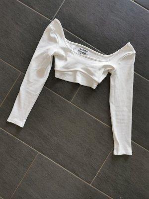 Asos Camicia cropped bianco