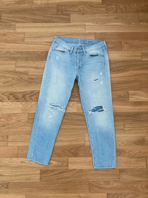 Cropped Straightcut 7 For All Mankind Size 24