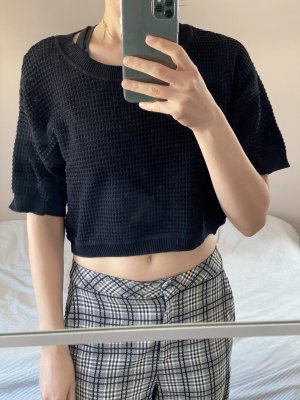 Marco Polo Jersey de manga corta negro