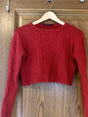 Cropped Strickpulli