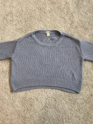 Cropped Strickpullover