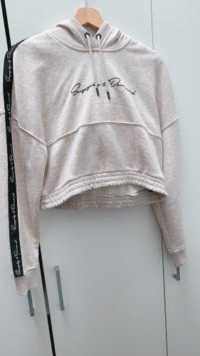 Supply & Demand New York Sweatshirt met capuchon wit-zwart