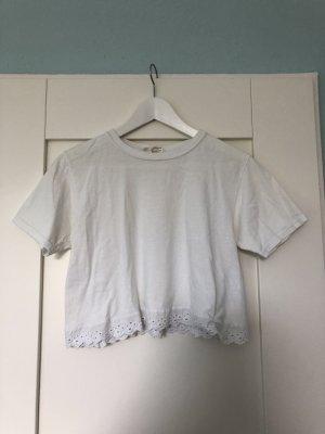 Urban Renewal T-shirt court blanc