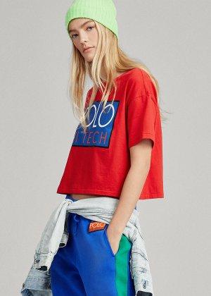 Cropped T-Shirt Polo Ralph Lauren