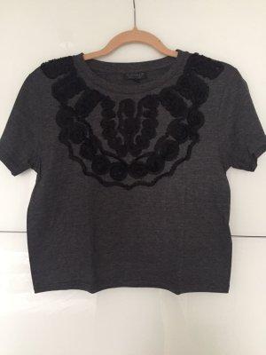Cropped T-shirt von Topshop