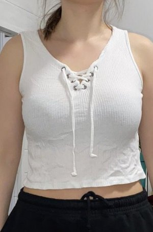 Primark Cropped top wit