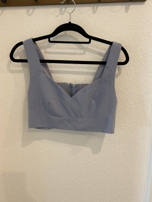 NA-KD Cropped top leigrijs