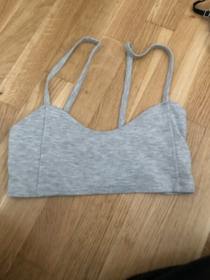 Review Cropped top lichtgrijs