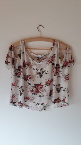 Cropped top Floral
