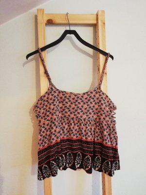 Cropped Top gemustert
