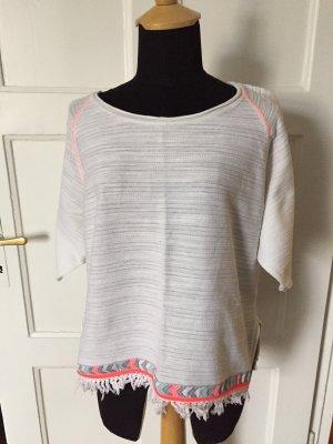 Bershka Cropped shirt veelkleurig