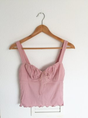 Cropped Top pink-dusky pink
