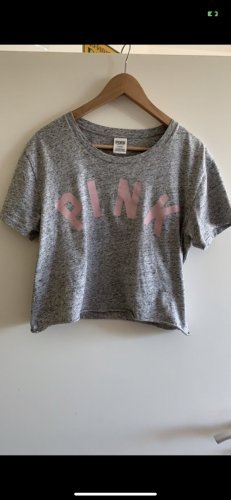 Pink Victoria's Secret Camicia cropped multicolore
