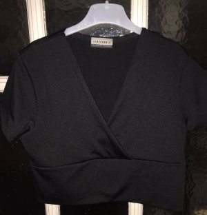 C&A Clockhouse Cropped Top black polyester