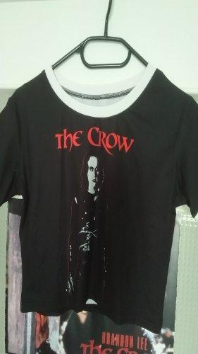 Croptop / Cropped Shirt mit Print