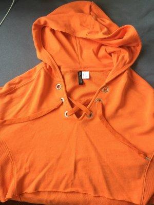 H&M V-halstrui donker oranje