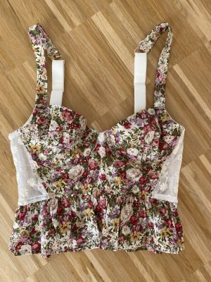 Urban Outfitters Corsage Top multicolored