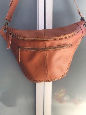 Cross Body Bag (Art Satteltasche) in Cognac
