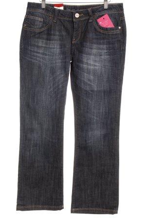 Cross Boot Cut Jeans dunkelblau Casual-Look