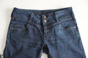 Cross Jeans cigarette bleu foncé