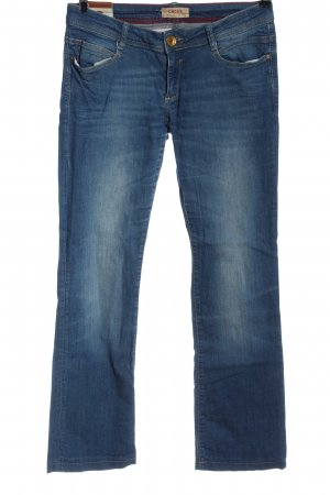 Cross Jeansy biodrówki niebieski W stylu casual