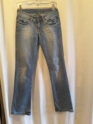 Cross Boot Cut Jeans blue