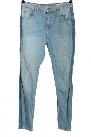 CROSS JEANS Boyfriendjeans blau Casual-Look