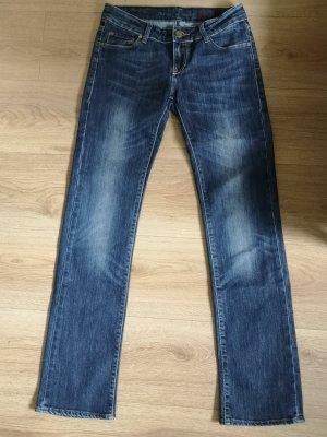 Cross Jeansy ze stretchu ciemnoniebieski Bawełna