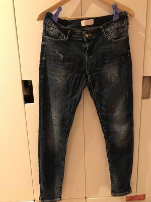 Cross Low Rise Jeans dark blue