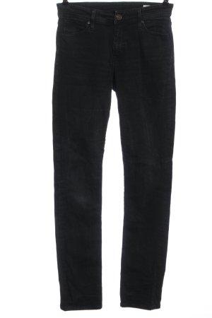 CROSS JEANS High Waist Jeans schwarz Casual-Look