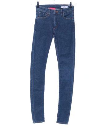 CROSS JEANS Jeans a vita alta blu stile casual