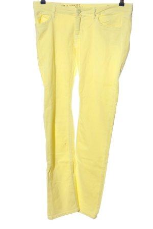 CROSS JEANS Jeans vita bassa giallo pallido stile casual