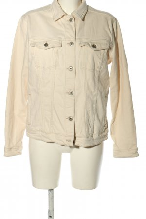 CROSS JEANS Denim Jacket cream casual look