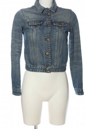 CROSS JEANS Denim Jacket blue casual look