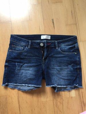 CROSS JEANS Denim Shorts dark blue