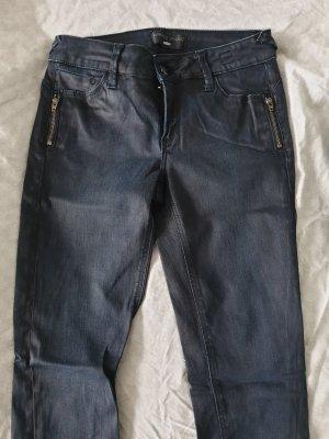 Cross Jeans, schwarz, glänzend, Gr. 36, Skinny
