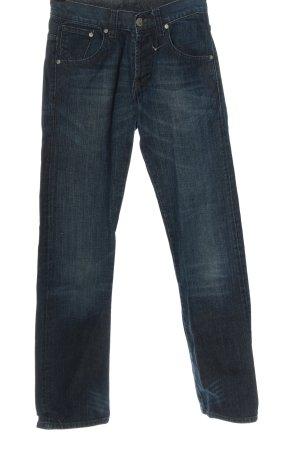 CROSS JEANS Straight-Leg Jeans blau Casual-Look